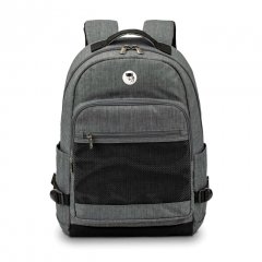 Balo laptop Mikkor The Eli Backpack - Grey