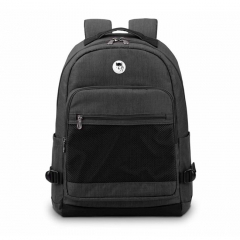 Balo laptop Mikkor The Eli Backpack - Graphite