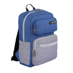 Balo Simplecarry Issac 1 - Navy/Grey (Safety)