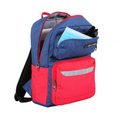 Balo Simplecarry Issac 1 - Navy/Red (Safety)