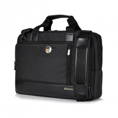 Túi xách Mikkor The Ralph Briefcase - Black