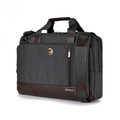 Túi xách Mikkor The Ralph Briefcase - Graphite