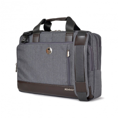 Túi xách Mikkor The Ralph Briefcase - Grey