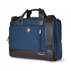Túi xách Mikkor The Ralph Briefcase - Navy