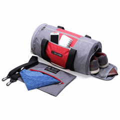 Túi thể thao Simplecarry Gymbag - Grey/Red