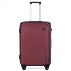 Vali Glossy Diamond SP217 24 inch (M) - Dark Red