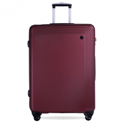 Vali Glossy Diamond SP217 28 inch (L) - Dark Red