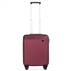 Vali Glossy Diamond SP217 20 inch (S) - Dark Red
